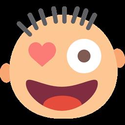 Emoticon Kiss Face Flirty Flirtatious Flirt Interface Icon