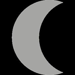 Moon Phase Signs Half Moon Night Nature Moon Icon