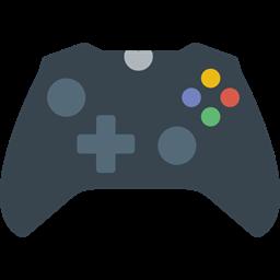 Electronic Multimedia Gaming Game Controller Gamer Technology Joystick Gamepad Video Game Icon