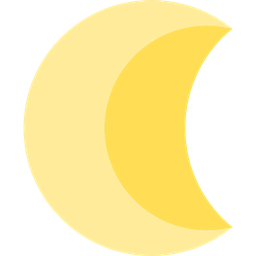Half Moon Astronomy Nature Moon Phase Meteorology Moon Icon
