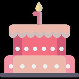 Cake Bakery Birthday Celebration Dessert Food Birthday Cake Icon