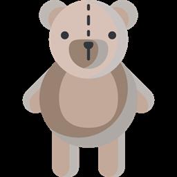 Animal Puppet Animals Childhood Fluffy Children Teddy Bear Icon