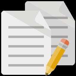 Document Pencil Icon