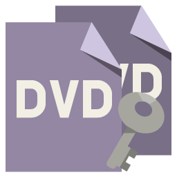 Key File Format Dvd Icon
