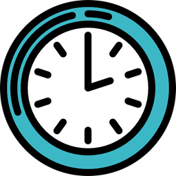 Time Miscellaneous Tool Square Tools And Utensils Watch Clock Icon