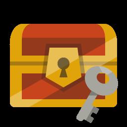 Chest Treasure Key Icon