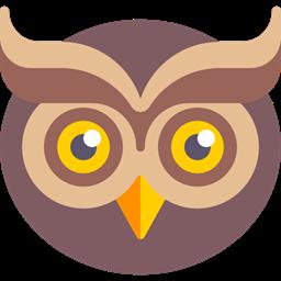 Bird Hunter Animals Owl Icon