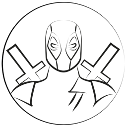 Deadpool Avatar Marvel Hero Icon