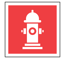Water Fire Sign Hydrant Code Sos Emergency Icon