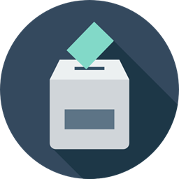Elections Election Icons Envelope Election Votes Box Signs Enveloped Voting Vote Icon