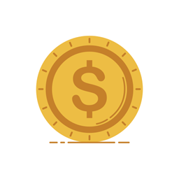 Graphic Business Bank Currency Banking Money Coin Icon