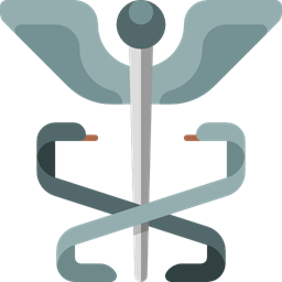 Hospital Healthcare And Medical Medical Caduceus Medicine Icon