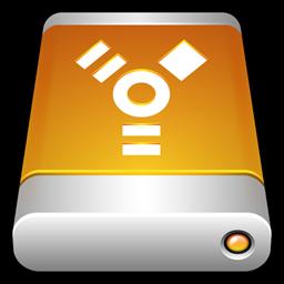 Storage Firewire Drive Disk Usb External Icon