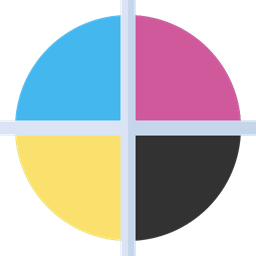 Print Miscellaneous Scheme Cmyk Icon
