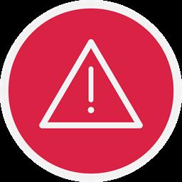 Warn Danger Warning Alert Icon