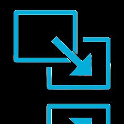 Full Screen Exit Mirror Icon