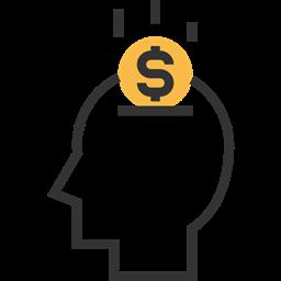 Head Cost Employee Money User Icon
