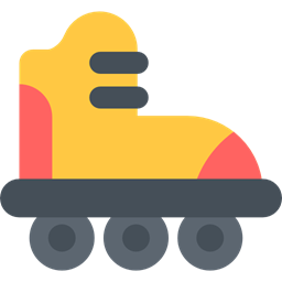 Sports Transportation Skating Roller Skate Roller Rolling Skate Sports And Competition Icon