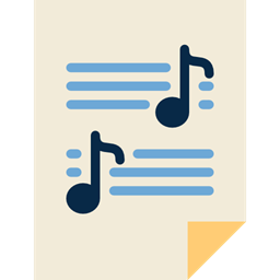 Musical Note Sheet Music Music Score Quaver Icon