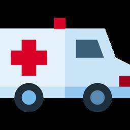 Ambulance Vehicle Automobile Medical Healthcare And Medical Transportation Transport Emergency Icon