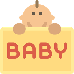 Newborn Human People Motherhood Baby Kid And Baby Icon
