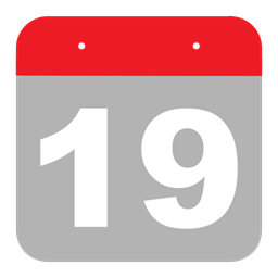 One Calendar Nineteen Hovytech Schedule Nine Event Icon