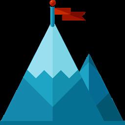 Nature Landscape Goal Mountain Icon