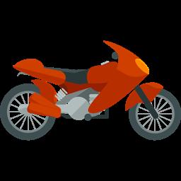Transportation Transport Motorbike Motorcycle Motor Sports Icon