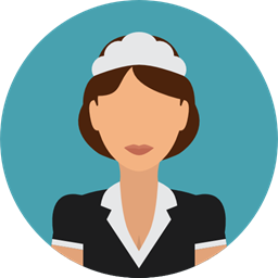 User Profile Avatar Job Profession Professions And Jobs Cleaning Lady Icon