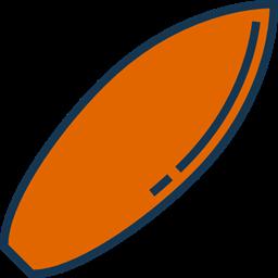 Equipment Sports Surfing Beach Surf Surfboard Summertime Icon