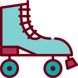 Sports Skate Skating Skater Roller Skate Sports And Competition Icon
