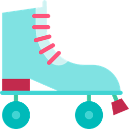 Sports Sports And Competition Skate Skating Skater Roller Skate Icon