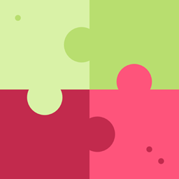 Gaming Fit Puzzle Jigsaw Creativity Puzzle Pieces Puzzle Game Icon