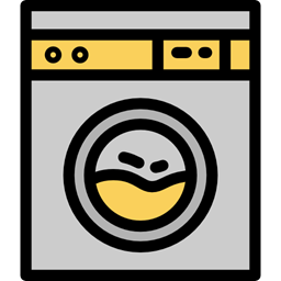 Laundry Tools And Utensils House Things Tool Machine Clothes Electronics Wash Washing House Icon