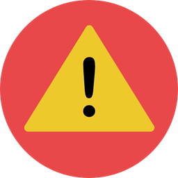 Warning Signaling Attention Error Notice Signs Icon