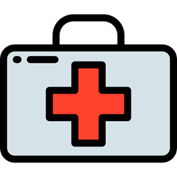First Aid Kit Health Care Doctor Medical Hospital Icon