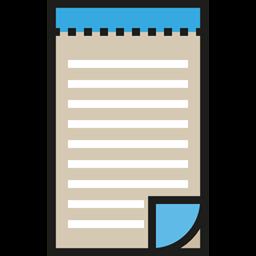 Book Notes Miscellaneous Memo Interface Pad Icon