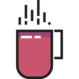 Holidays Coffee Cup Icon