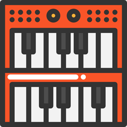 Music And Multimedia Electronic Organ Musical Instrument Synthesizer Keyboard Music Piano Icon