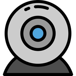Cam Webcam Technology Videocall Electronics Videocam Communications Video Chat Icon