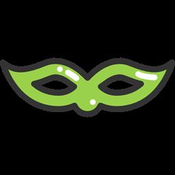 Party Mask Carnival Fashion Costume Eye Mask Icon