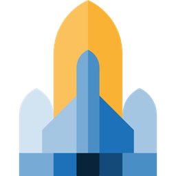 Spaceship Transportation Transport Space Ship Rocket Ship Space Ship Launch Rocket Launch Icon