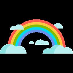 Znalezione obrazy dla zapytania: rainbow icon