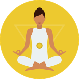 Yoga Exercise Meditation Pilates Relaxing Poses Lotus Position Sports And Competition Icon