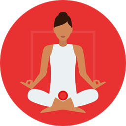 Poses Lotus Position Sports And Competition Exercise Meditation Pilates Relaxing Yoga Icon