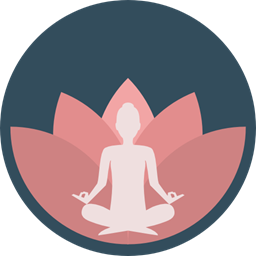 Poses Lotus Position Sports And Competition Exercise Meditation Pilates Relaxing Miscellaneous Yoga Icon
