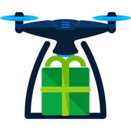 Camera Shipping Transportation Transport Fly Electronics Remote Control Drone Icon