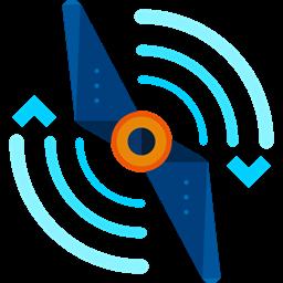 Airscrew Transportation Propeller Electronics Drone Icon