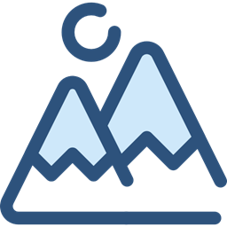 Mountains Nature Landscape Goal Mountain Icon
