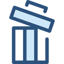 Delete Trash Bin Garbage Can Ui Recycling Multimedia Option Ecology And Environment Icon